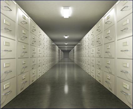 Archivačné oceľové skrine